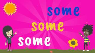 Phase 4 Tricky Words Song Sight Words Song for said, have, like, come,  some, what, when - YouTube