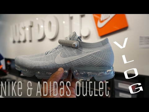 Nike & Adidas Outlet & International Plaza Mall Vlog