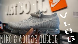 Nike & Adidas Outlet & International Plaza Mall Vlog