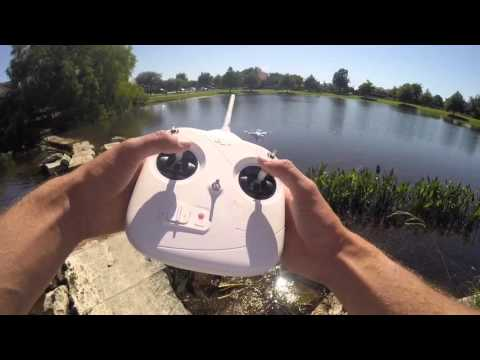 Dji Phantom Drone Fishing