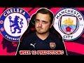 My Premier League 2018/19 WEEK 16 PREDICTIONS!