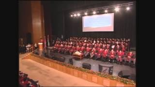 Graduation Ceremony Hashemite University MedSchool 2013 Batch - Full Video