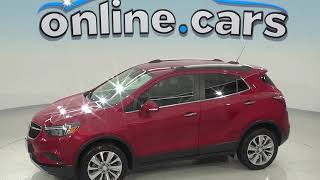 A98728TA Used 2017 Buick Encore Preferred AWD SUV Red Test Drive, Review, For Sale