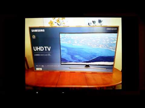 """Samsung UE55KU6020 55"""" Smart 4K Ultra HD with HDR TV Review"""