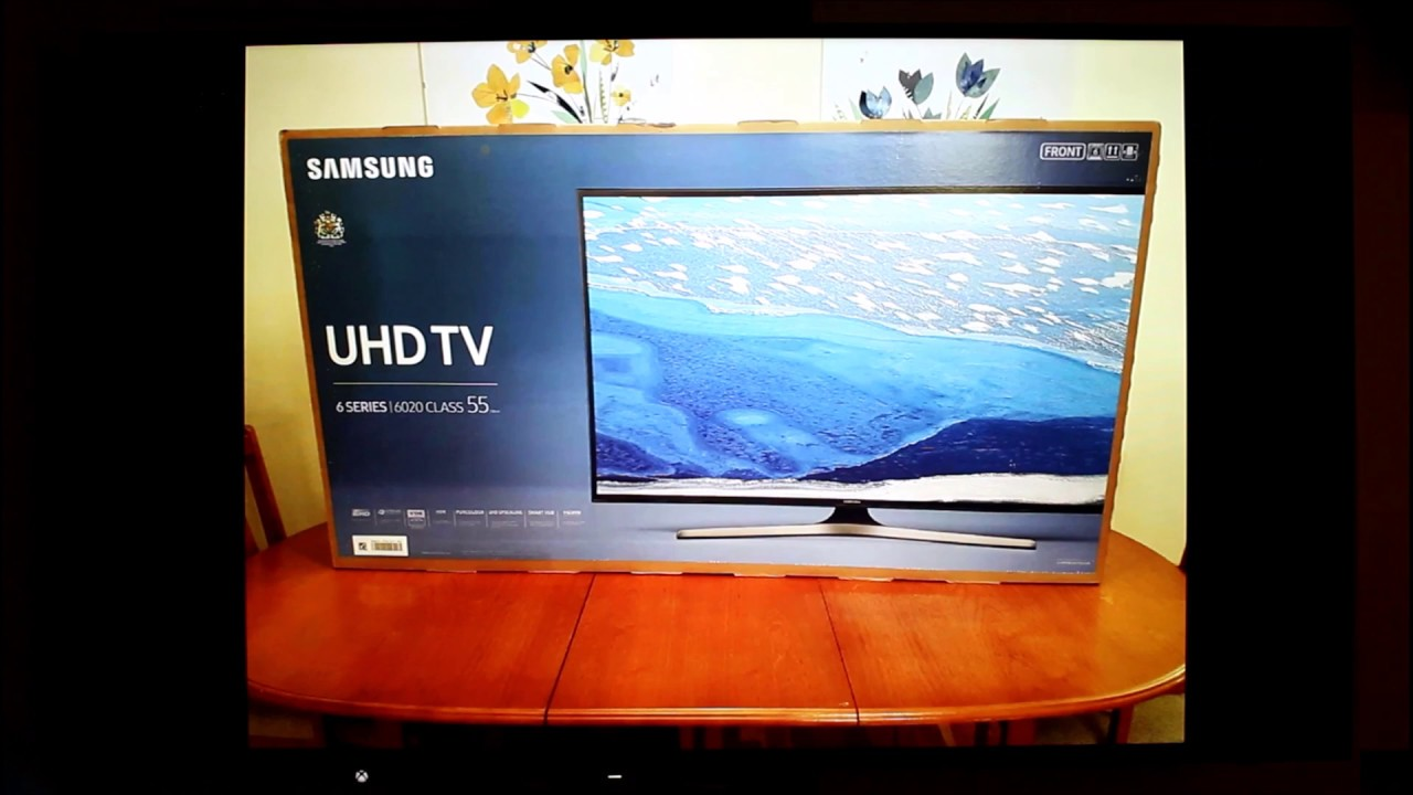 samsung ue55ku6020 55 smart 4k ultra hd with hdr tv. Black Bedroom Furniture Sets. Home Design Ideas