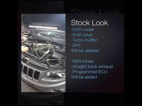 Jeep Grand Cherokee eco Deisel egr/dpf delete and ppei tune