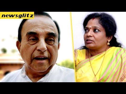தமிழகத்தில் பா.ஜ.க. இருக்கா ?  : Subramanian Swamy Chuckled at BJP in Tamilnadu | TN Politics