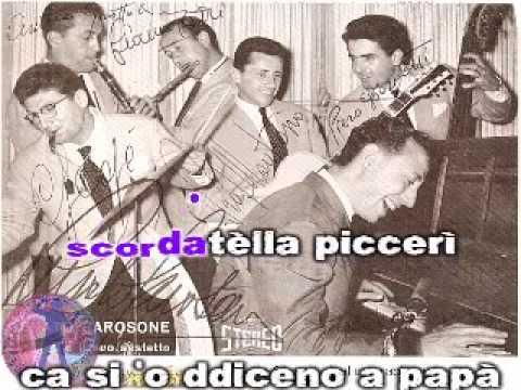 Renato Carosone - Medley (karaoke fair use) Chella lla - Guaglione - Tu vuo fa l'americano - Torero