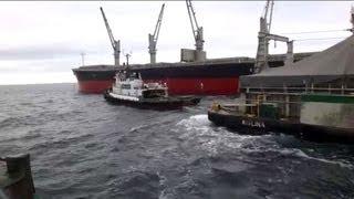 Foss Tugboat Arctic Operations Red Dog Port Alaska