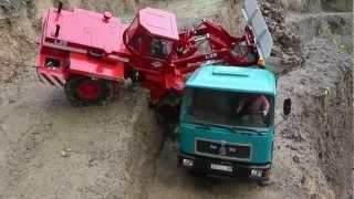 RC ACCIDENT l  FATAL CRASH l BIG CRASH l RC CRASH l heavy rc machines ! rc live action in danger!