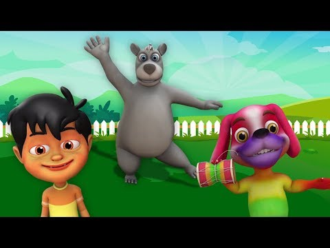 Kalu Madari Hindi Rhyme | कालू मदारी | Hindi Balgeet | Kids Channel India | Hindi Nursery Rhymes