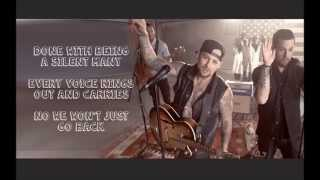 The Madden Brothers - We Are Done (Lyrics On Screen)
