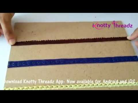 How To Make A Earring Organiser Or Holder Using Lace Diy S Knottythreadz