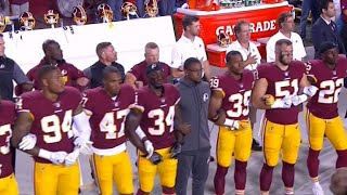 More than 200 NFL players protest after Trump's criticism
