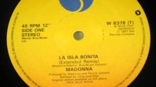 Madonna-La Isla Bonita (Extended Remix) Vinyl