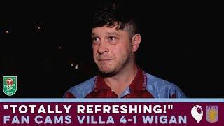 FAN CAMS | Aston Villa 4-1 Wigan Athletic |