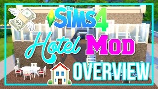 The Sims 4 | Hotels | Mod Overview