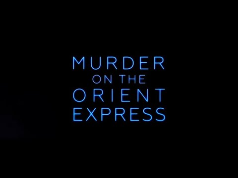 Grandma goes to MURDER ON THE ORIENT EXPRESS (12-11-2017 movie review)