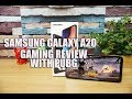 Samsung Galaxy A20 Gaming Review With PUBG Mobile- Heating And Battery Drain