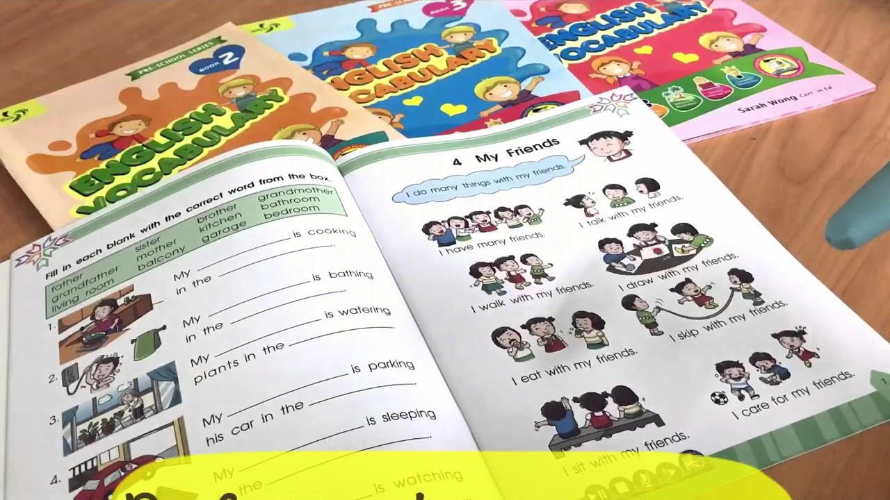 Beginner Preschool Series - English Vocabulary - YouTube