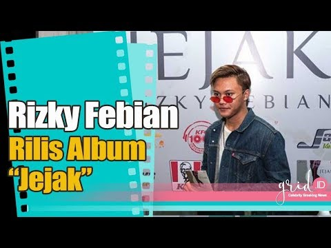 Tanggapan Rizky Febian Setelah Rilis Album Jejak