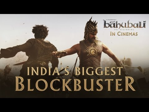 Baahubali - The Beginning | Official Trailer | Prabhas, Rana Daggubati, SS Rajamouli mozi, előzetes