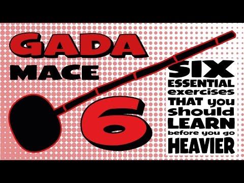 GADA (MACE) 6 Essential Exercises B4 You Go HEAVIER