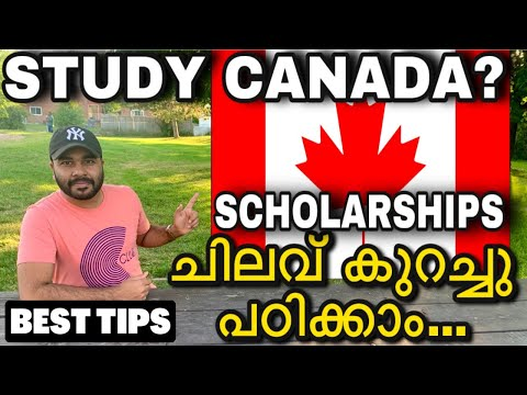 🇨🇦Canada Student Visa Tips 2020|Canada Scholarships🔥Canada Study Visa|Canada Malayalam|PR|VISA
