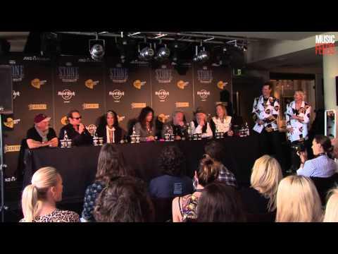 Van Halen, Aerosmith & Billy Joel - Stone Music Festival Press Conference (Part 1)