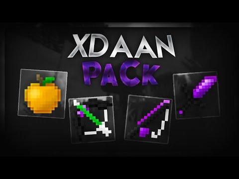 Minecraft PvP Texture Pack - xDaan Purple Pack