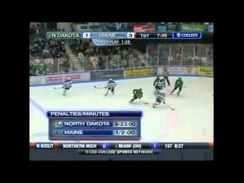 CBS Sports Broadcast-Maine Hockey vs North Dakota