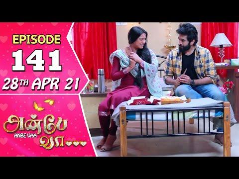 Anbe Vaa Serial | Episode 141 | 28th Apr 2021 | Virat | Delna Davis | Saregama TV Shows Tamil