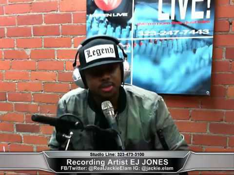 Recording Artist EJ Jones on Jackie Elam Live! Entertainment Unlimited