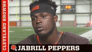 Video Behind the scenes with Jabrill Peppers at his first away game download MP3, 3GP, MP4, WEBM, AVI, FLV November 2017