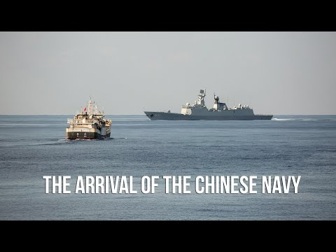 The Arrival of the Chinese Navy