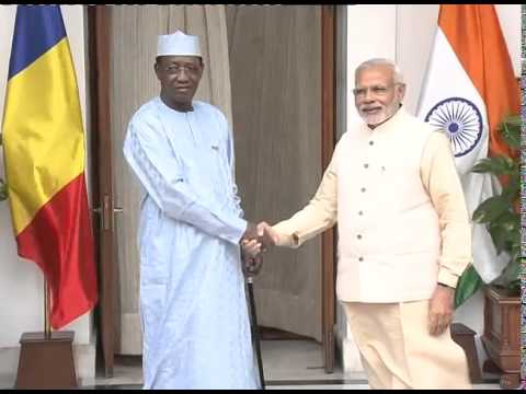 PM meeting President of Chad