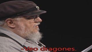 Juego de Tronos - Victarion - Vientos de invierno - Leído por R.R.Martin y subtitulado español