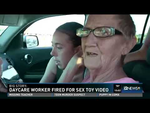 Daycare worker fired for sex toy video thumbnail