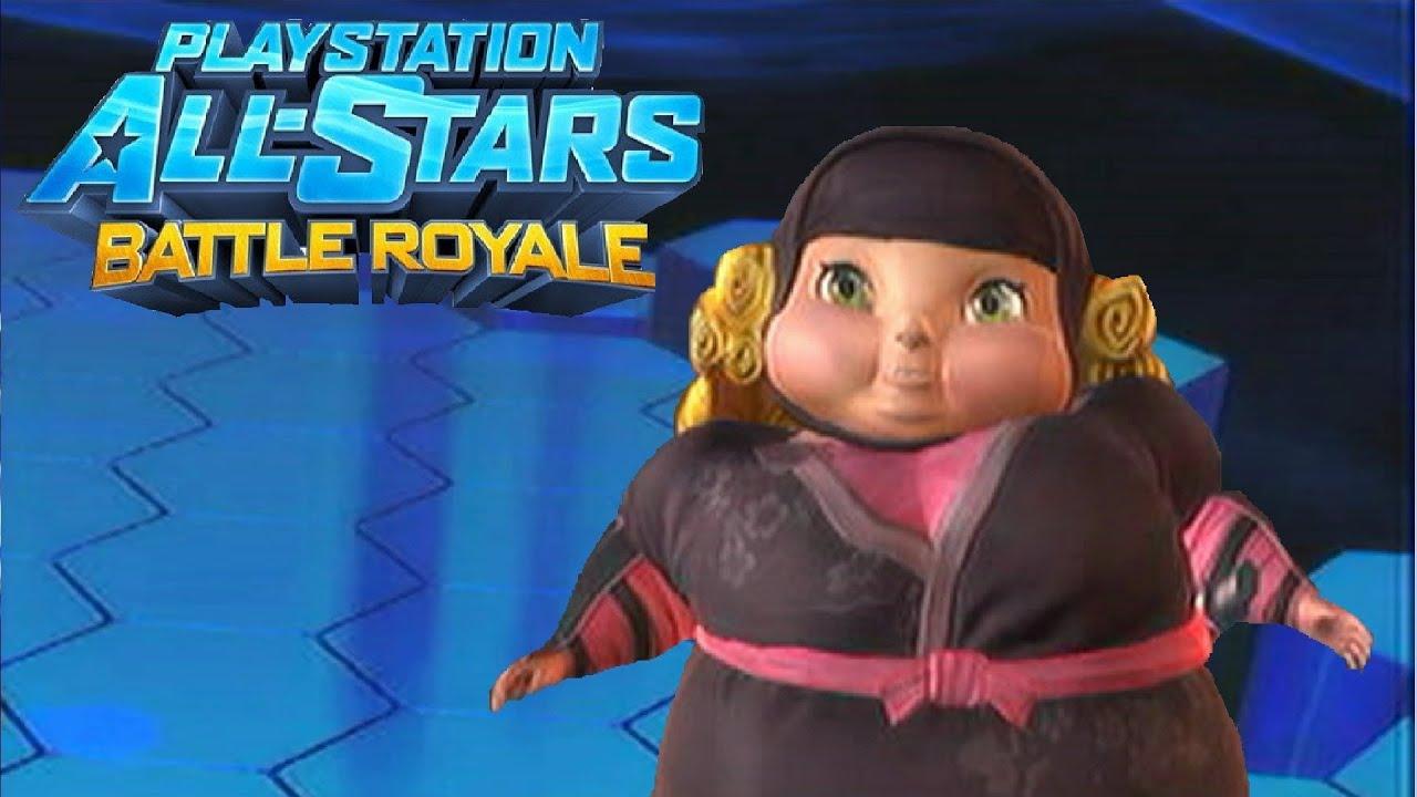 Playstation All Stars Battle Royale Fat Princess Quot Ninja