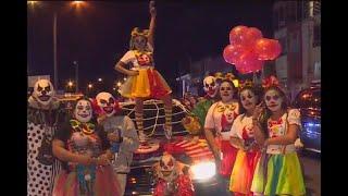 Motopayasos se tomaron las vías de Bogotá para celebrar el Halloween