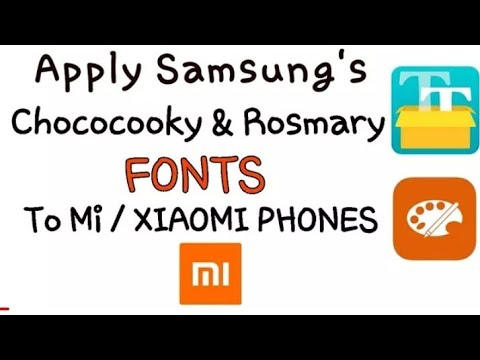 How can apply Rosemary font in all redmi phones expected redmi 4 in Telugu