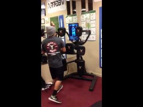 Nexersys Workout at Bring It Home Fitness (sparring)