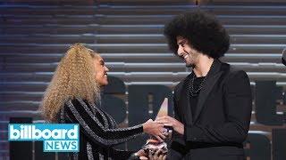 Beyonce Presents Colin Kaepernick With Sports Illustrated Muhammad Ali Legacy Award | Billboard News