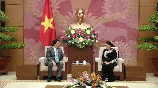 Chủ tịch Quốc hội Nguyễn Thị Kim Ngân tiếp Đại sứ Trung Quốc tại Việt Nam