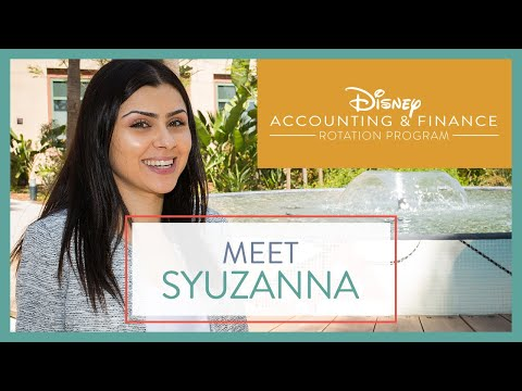 Disney Accounting & Finance Rotation Program: Syuzanna