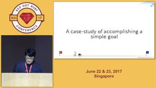 Keynote: Simple goal. Hard to accomplish - RedDotRubyConf 2017