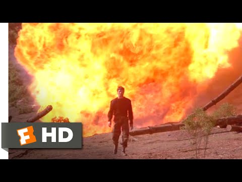Remo Williams: The Adventure Begins (1985) - Explode and Walk Away Scene (11/12) | Movieclips