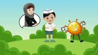 كيفية التخلص من مرض كورونا للأطفال