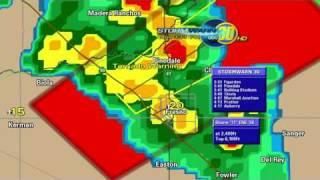Fresno,CA Tornado Warning EAS Activation