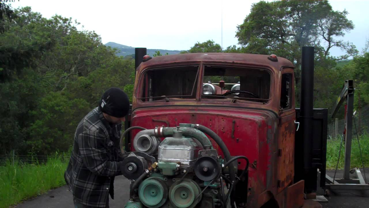 RUN AWAY Detroit Diesel! 453-T - YouTube